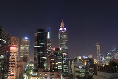 Melbourne cityscape Stock Images