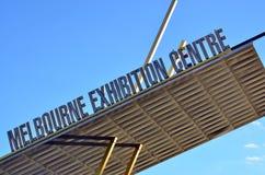 Melbourne Convention and Exhibition Centre. Faced in Melbourne,  Victoria Australia Stock Photography