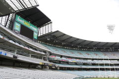Melbourne Cricket Ground Stock Photo