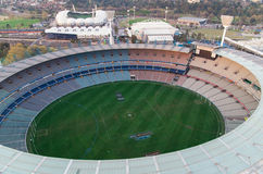 Melbourne Cricket Ground aerial Stock Images