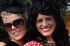 Melbourne cup fashion Royalty Free Stock Image