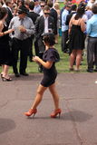 Melbourne Cup race day Royalty Free Stock Photo