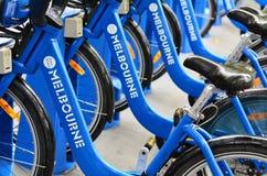 Melbourne cykelaktie Fotografering för Bildbyråer