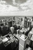 Melbourne czarny biel Fotografia Royalty Free