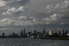Melbourne de la mer Photographie stock libre de droits
