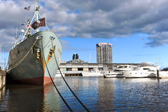 Melbourne Docklands Royalty Free Stock Image