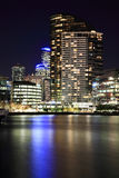 Melbourne Docklands,Australia. Docklands is located in the heart of Melbourne, at the western edge of the central business district with which it is rapidly royalty free stock image