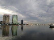 Melbourne Docklands Stock Image