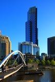 Melbourne-- Eureka-89 Kontrollturm Stockbilder