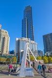 Melbourne Eureka i Footbridge wierza Obrazy Stock