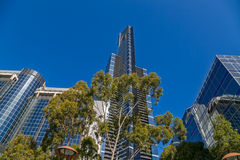 Melbourne Eureka tower Stock Image