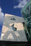 Melbourne federacji square Obrazy Royalty Free