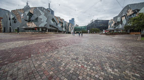 Melbourne Federation Square Royalty Free Stock Image