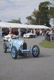 Melbourne-Formel 1, Bugatti und Austin Healey lizenzfreies stockbild