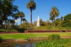 Melbourne-Gärten stockfoto