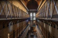 Melbourne-Gaol-Sonnenlicht stockfotografie