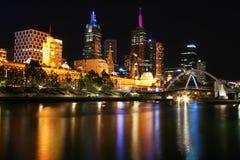 Melbourne - gare de rue de Flinders Photographie stock libre de droits