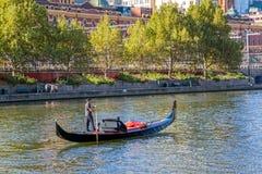 Melbourne gondola ride Royalty Free Stock Image