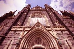 Melbourne gränsmärke Royaltyfri Foto