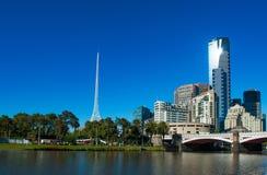 Melbourne horisont Royaltyfri Foto