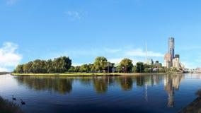 Melbourne i yarra rzeka zdjęcie stock