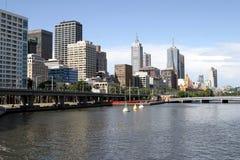 Melbourne im Stadtzentrum gelegen, Australien, Stockbild