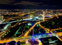 Melbourne and its sporting precinct Royalty Free Stock Photography