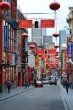 Melbourne kineskvarter Arkivbild
