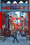 Melbourne kineskvarter Arkivbilder