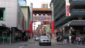 Melbourne kineskvarter arkivfilmer