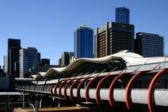 Melbourne krzyżowa południowej stacji Obraz Royalty Free