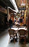 Melbourne laneway restaurants Stock Photo