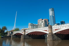 Melbourne linia horyzontu Zdjęcia Royalty Free