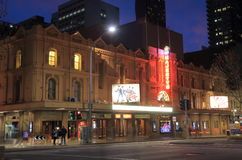 Melbourne Majesty's theatre histrical architecture Australia. Majesty's theatre historical architecture in Melbourne Australia Stock Photo