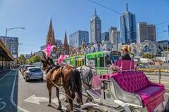Melbourne miasta trenera wycieczka turysyczna Obrazy Royalty Free