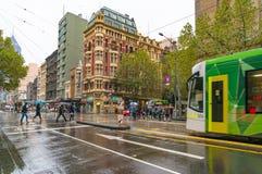 Melbourne miastowa infrastruktura Fotografia Royalty Free