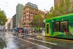 Melbourne miastowa infrastruktura Zdjęcie Stock