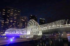 Melbourne modern architecture Australia Royalty Free Stock Photos