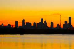 Melbourne-Morgen Stockfoto
