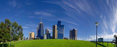 Melbourne morgon Arkivbilder
