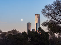 melbourne morning Royalty Free Stock Image