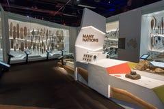 Melbourne Museum. In Victoria, Australia. Photo taken on 11th April, 2015 Royalty Free Stock Photos