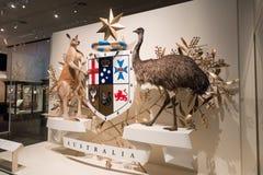Melbourne muzeum Zdjęcia Royalty Free