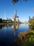 Melbourne odbicia obrazy stock