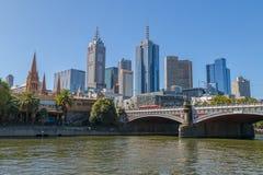 Melbourne old bridge Royalty Free Stock Photo