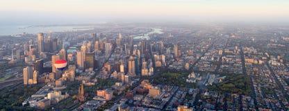 Melbourne overiew Fotografering för Bildbyråer