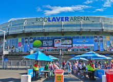 Melbourne Park at the Australian Open Royalty Free Stock Photography