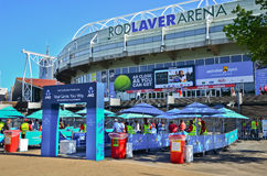 Melbourne Park during the Australian Open Royalty Free Stock Photography