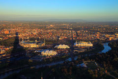 Melbourne Park - Sports Arenas Royalty Free Stock Photography