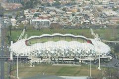 Melbourne parkerar rektangulär stadion, AAMI Arkivfoto
